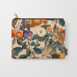 Vintage Fruit Pattern IX Carry-All Pouch