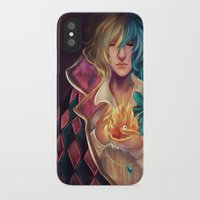 howl iPhone & iPod Cases featuring Howl by This Is Niniel Illustrator