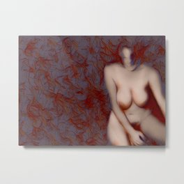 Erotically Charged Metal Print