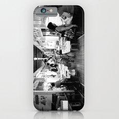 Somethings Fishy [Black & White] Slim Case iPhone 6s