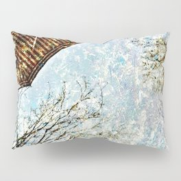 Reflective Perspective Pillow Sham