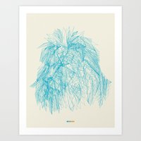 courage Art Prints featuring Courage by Chrs_r