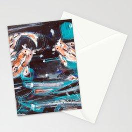 Koi Fish Art - Koi 2 Stationery Cards