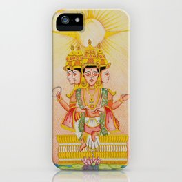 Grew From A Lotus iPhone Case
