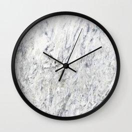 Vintage rustic gray white elegant marble Wall Clock