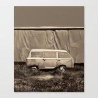 van Canvas Prints featuring Van by Bekim ART