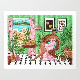 Summer in Byron Bay - Frida collection - Art Print