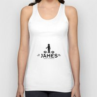 james franco Tank Tops featuring James by Papa-Paparazzi