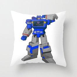 G1 Soundwave Throw Pillow