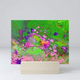 Green Acid Mini Art Print
