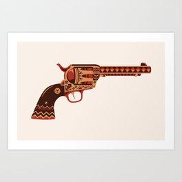Pistola Art Print