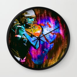 Digital Football Wall Clock