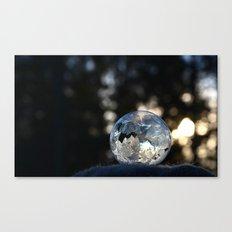 Frozen Bubble Canvas Print
