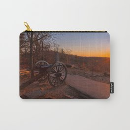 Gettysburg Sunset Cannon Carry-All Pouch