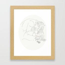Whouffle Framed Art Print