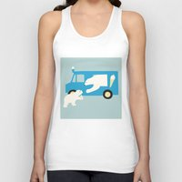 icecream Tank Tops featuring ICECREAM by La Farme