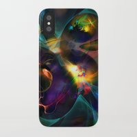 universe iPhone & iPod Cases featuring Universe by Robin Curtiss