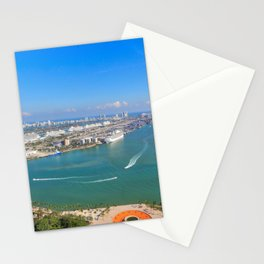 Biscayne Bay View Stationery Cards