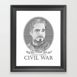 Civil War #2 Framed Art Print