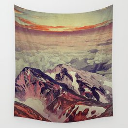 Victory the Climb Wall Tapestry