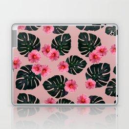 Tropical pattern n.1 - pink Laptop & iPad Skin