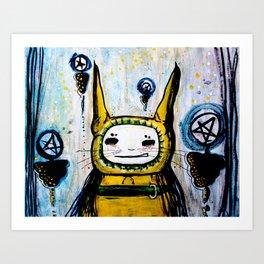 My friend.  Art Print