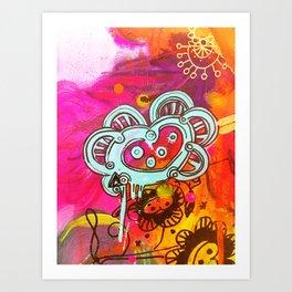 El corazon Art Print