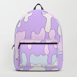 DRIPPY ((pink, purple, blue)) Backpack