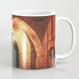 Night in Downtown Montefiore dell'Aso (1 of 2 color choices) Coffee Mug