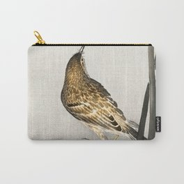 Ohara Koson - Pipit on a waterfront Carry-All Pouch