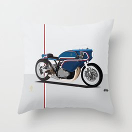 Suzuki Custom Kiki shop Throw Pillow