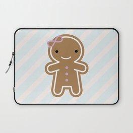 Cookie Cute Gingerbread Girl Laptop Sleeve