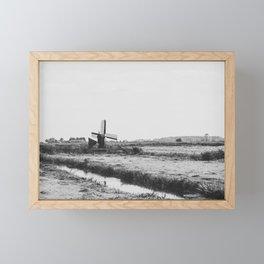 Wind Farm Framed Mini Art Print