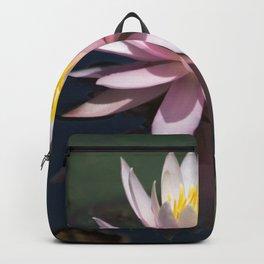 Aquatic pastel flower Backpack