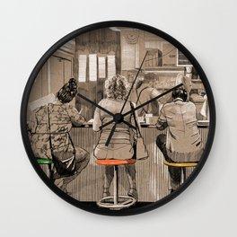 Daily life Wall Clock