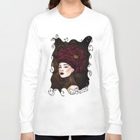 steampunk Long Sleeve T-shirts featuring Steampunk by Paula Noidat