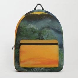 What lies beyond the valley Backpack