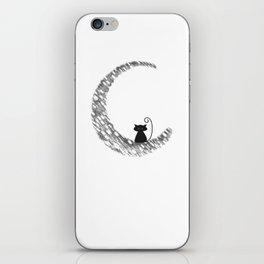 Mooncat iPhone Skin