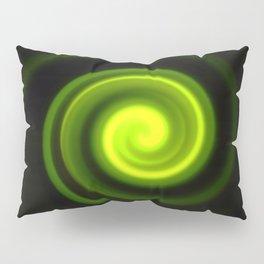 Green Twirl Pillow Sham