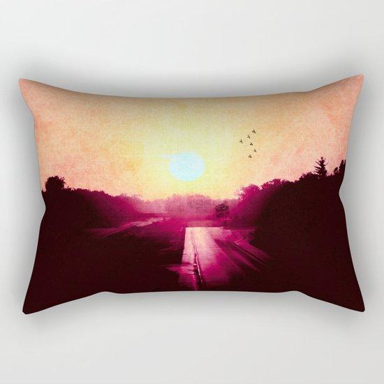 Don't Give Up Rectangular Pillow