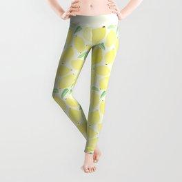 Summer Lemons Leggings