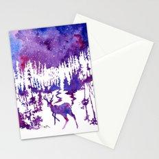 Starry Night Stationery Cards