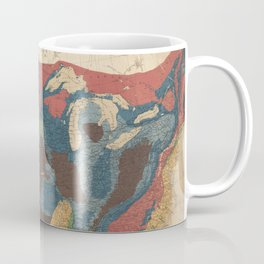Vintage United States Geological Map (1872) Coffee Mug