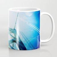 oakland Mugs featuring oakland bay bridge  by Ciara Rose Photography