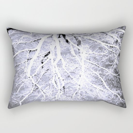 passage to hades color drained gray Rectangular Pillow