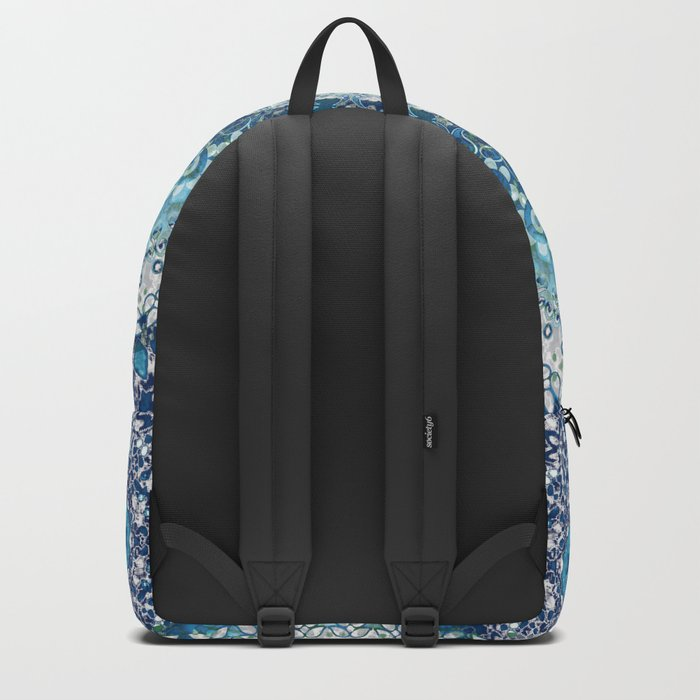 Teal Tapestry Mandala Backpack