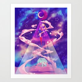 Sweet Dreamz Are Made Of These Art Print