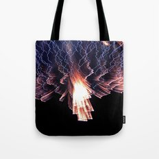 Cloud of fire Tote Bag