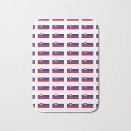 flag of slovakia -,Slovak,Slovensko,Eslovaquia,eslovaco, Czechoslovakia, Bratislava, Košice Bath Mat