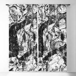 Revelation - b&w Blackout Curtain